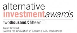 Award for Innovation in Clearing OTC Derivatives