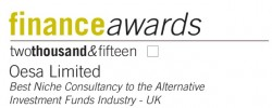 Best Niche Consultancy to the Alternative Investment Funds Industry - UK
