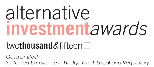 Sustained Excellence in Hedge Fund - Legal and Regulatory